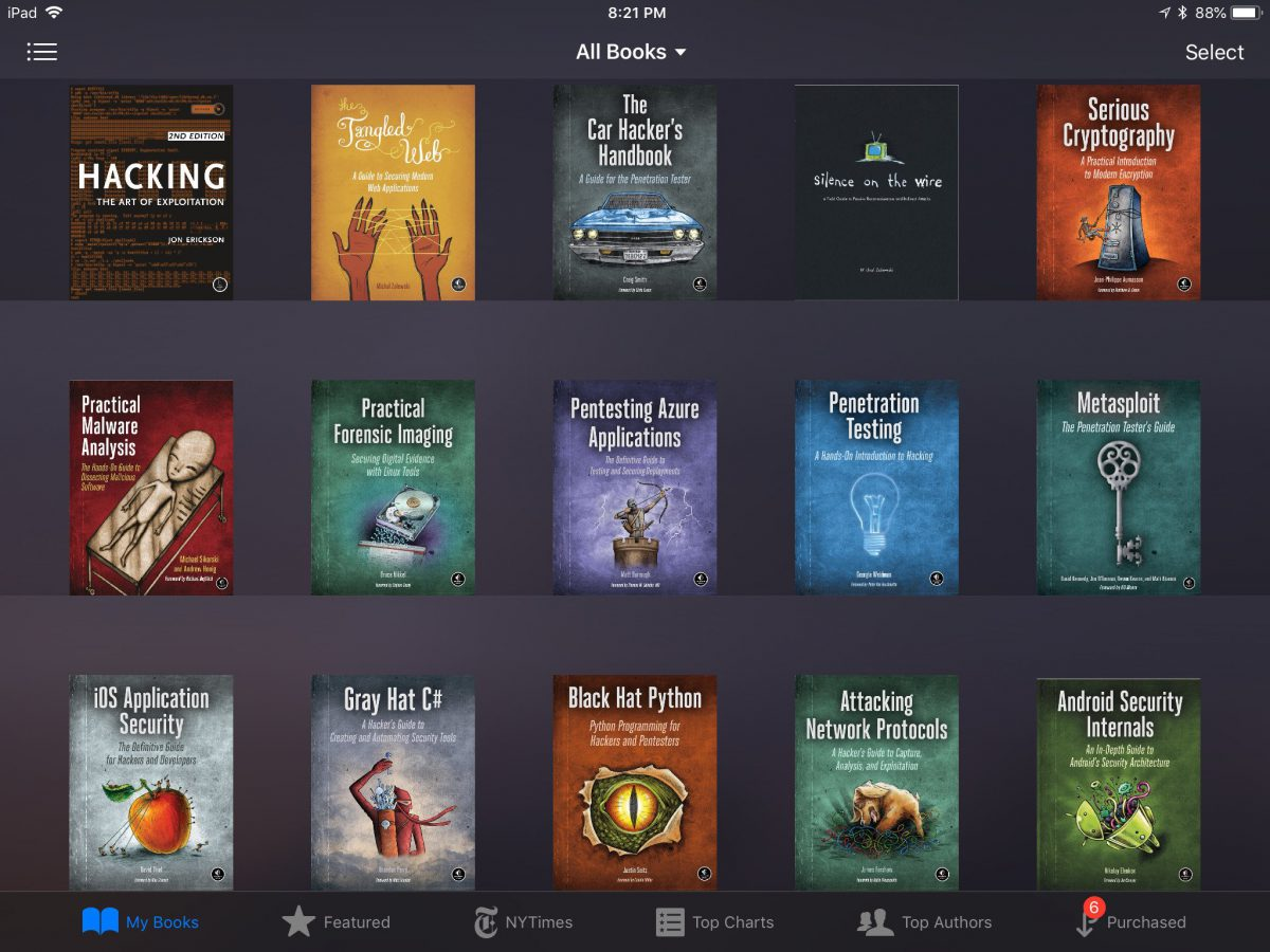 Humble Book Bundle: Hacking for the Holidays by No Starch Press